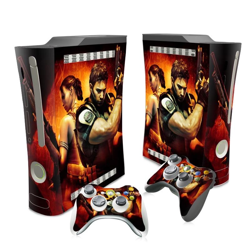 Calcomanía de vinilo a prueba de agua para Xbox 360, calcomanía de vinilo para Xbox 360, Envío Gratis # TN-XB360-0007