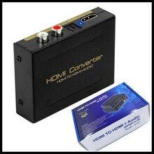 V 1,4 HDMI zu HDMI Konverter Extractor Splitter SPDIF R/L + Video Audio out,HDCP Entferner, US & EU Stecker Adapter, mit Einzelhandel Box