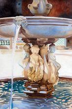 Высокое качество Масляные картины для отеля настенный Декор испанский фонтан Джон Сингер Сарджент холст рисунок пейзаж ручной работы