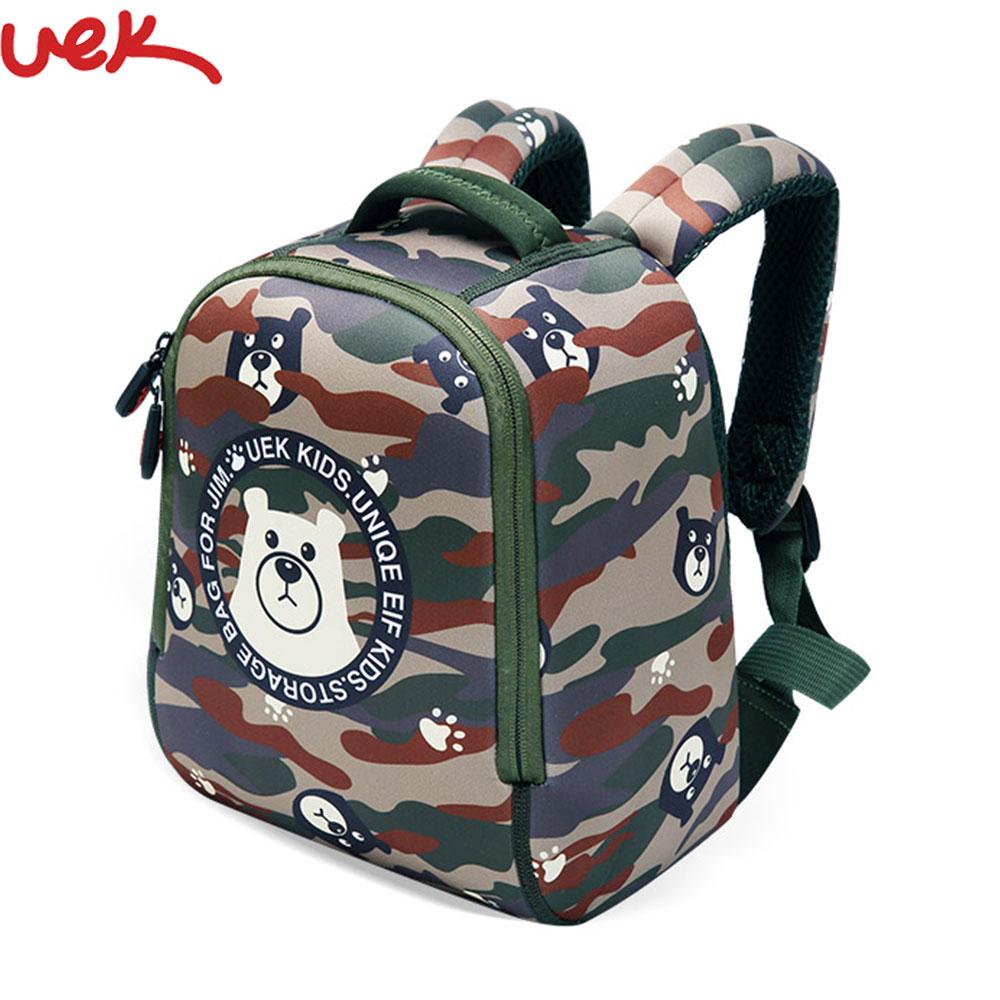 Lindo chico niño bolsas de la escuela mochila Kinder mochila oso impresión chico s Animal escuela impermeable mochila SJ013