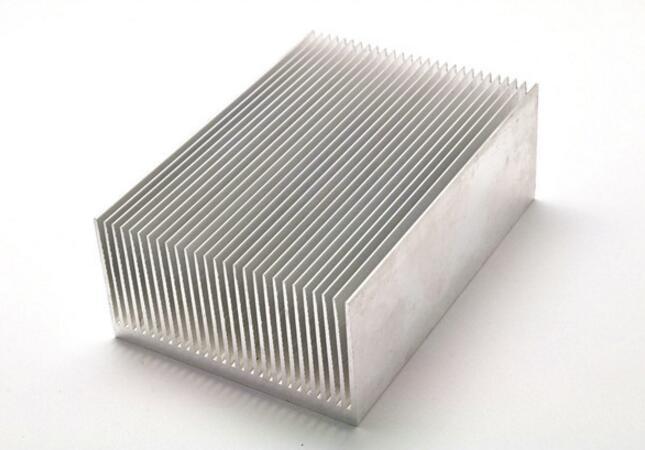Disipador de calor de aluminio de 240mm * 76mm, disipador de calor LED para refrigeración de lámpara de acuario de alta potencia X 5, envío gratis