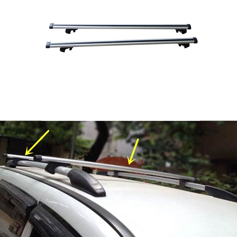 Barra de Cruz de aleación de aluminio para carga de techo portaequipajes para Nissan CDV NV200 2013-2016