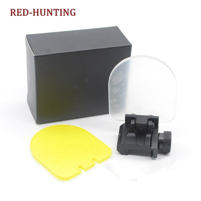 Hunting BB Balls Bulletproof Lens Scope Shields 20mm Rail Mount Optics Holographic Sight 551 552 Shooting Protector
