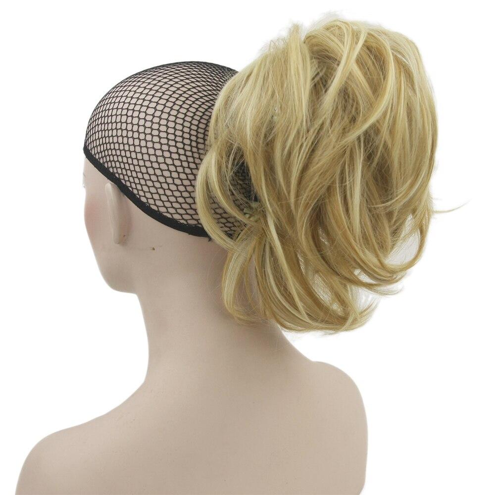 Волнистые волосы Soowee, 10 видов цветов, коготь, хвостик, синтетические волосы, блонд, серый, маленький пони, хвостик, волосы для наращивания