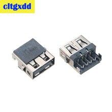 Cltgxdd 2-10 stücke Für Lenovo G570A G570AH E320 Samsung 3 HP G4-1000 G6 G7-1000 G62 Laptop USB jack buchse anschluss stecker