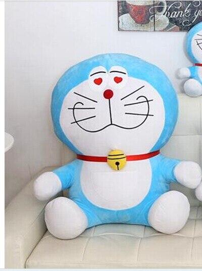 Movie & TV Doraemon plush 50cm red heart eyes doraemon toy doll gift  w1529