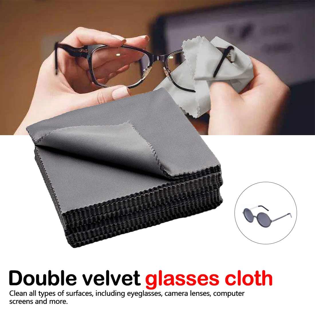10 шт./лот, высокое качество, очиститель для очков, 140 мм * 135 мм, ткань из микрофибры для чистки очков, для чистки линз, для очистки экрана телефона, Wi-Fi