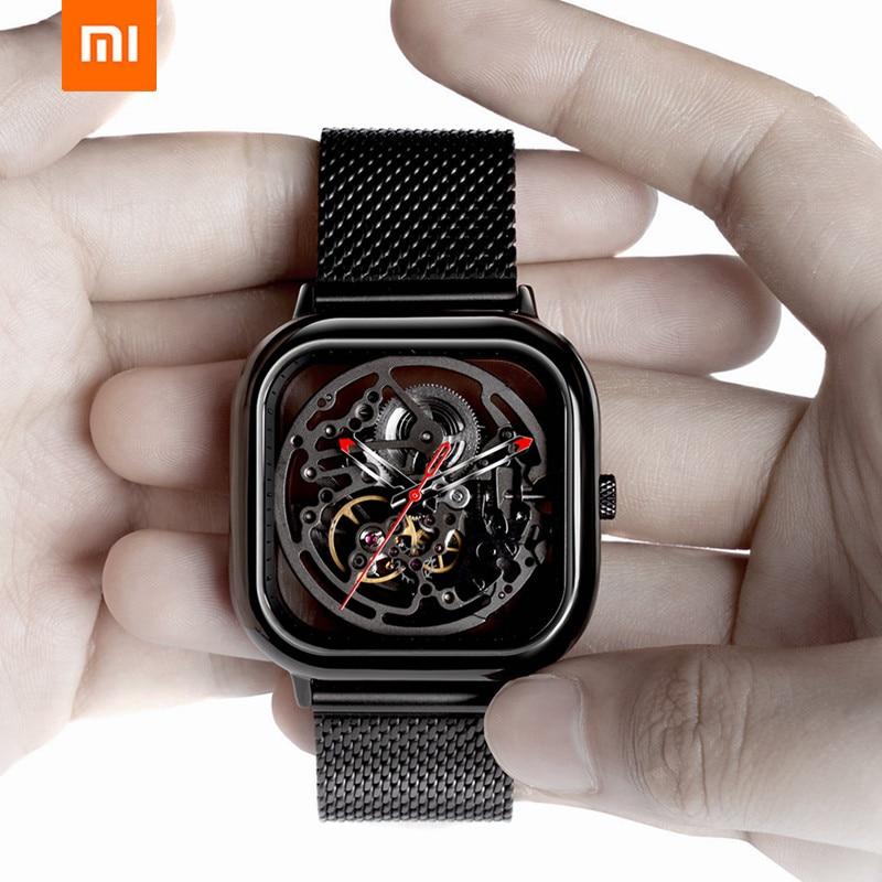 Xiaomi Mijia ÇIĞ Izle delikli Mekanik Kol Saatleri Izle Reddot Kazanan Paslanmaz Moda Lüks Otomatik Saatler