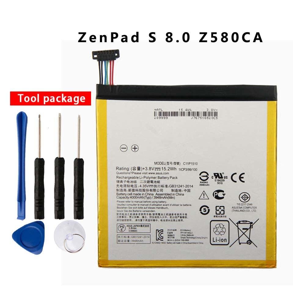 Orginal bateria do Tablet para Asus ZenPad C11P1510 S 8.0 Z580CA 4000 mAh