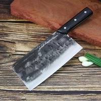 chinese chef knife 8 inch stainless steel handmade kitchen slicing knife cleaver knife vegetable meat fruit knives %d0%ba%d1%83%d1%85%d0%be%d0%bd%d0%bd%d1%8b%d0%b5 %d0%bd%d0%be%d0%b6%d0%b8