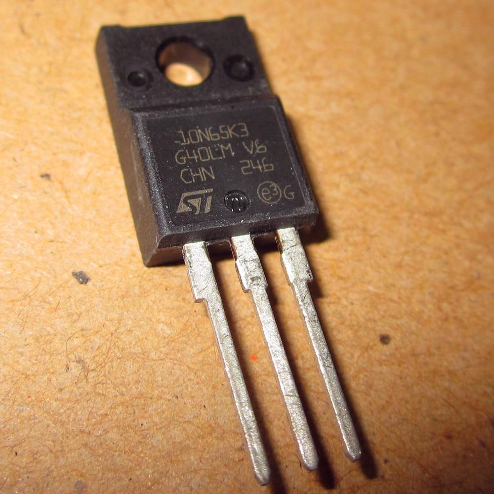 10N65K3 10N65K3 N65K3 Second-hand original 10pcs/lot