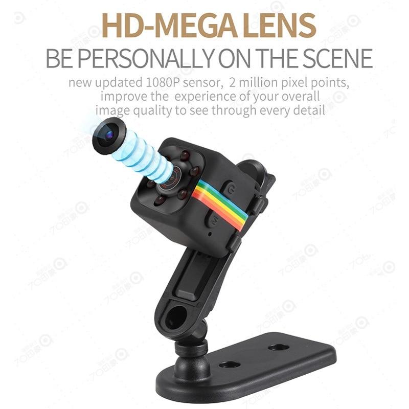 Мини Камера 1080P HD Малый cam Сенсор Ночное видение видеокамера DV Регистраторы SQ11 Micro