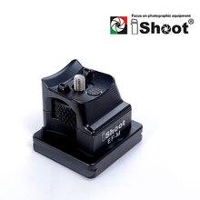 Adaptateur de pied de Base de remplacement pour collier dobjectif iShoot pour objectif sans miroir Canon EF-EOS M anneau de montage pour trépied Compatible Arca Swiss