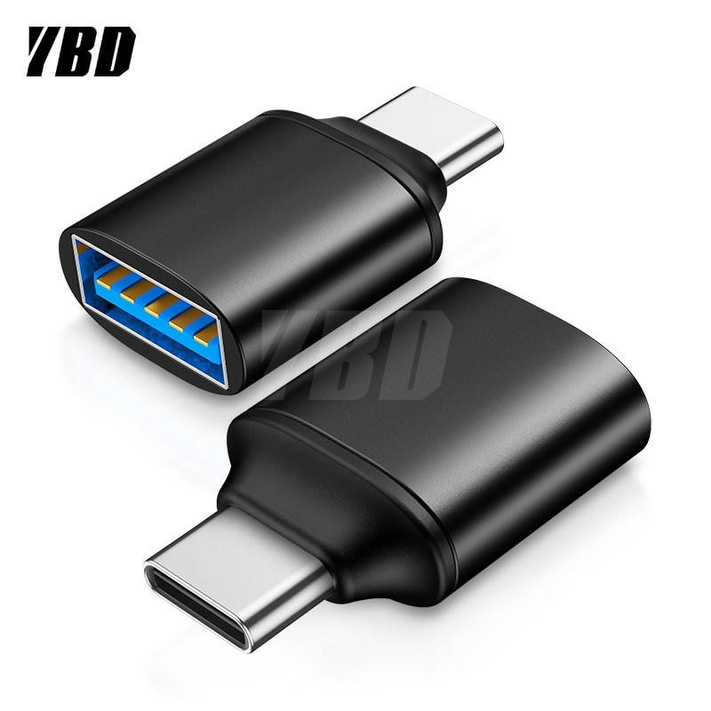 YBD-Adaptador USB Tipo C OTG para Xiaomi, Huawei, Samsung S9, Tipo C,...