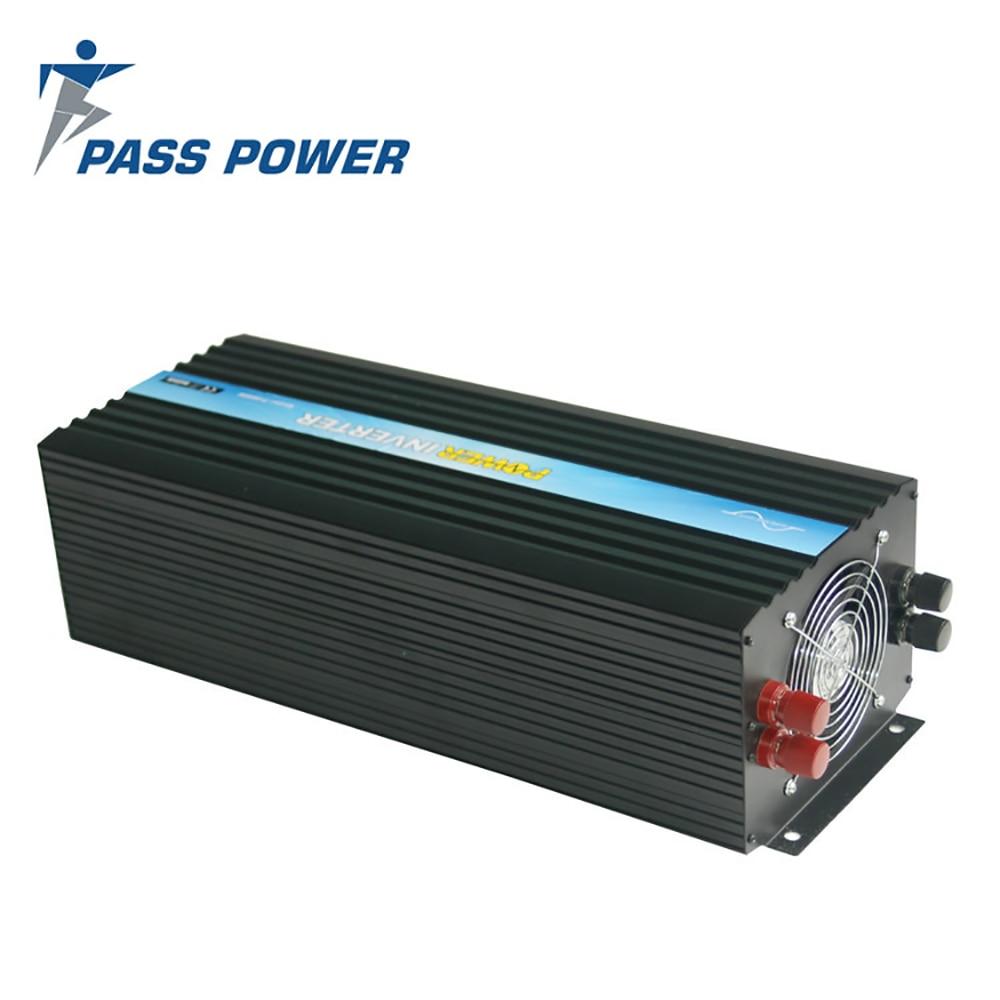 Proveedor de China proporciona inversor de corriente fuera de red 5000w 48v a 230 v, inversor 50Hz/60Hz CE & ROHS & SGS