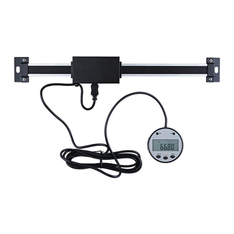 Regla de escala lineal de lectura Digital remota magnética DRO de 0,01mm pantalla externa LCD Bridgeport máquina torno fresa máquina herramientas de medición