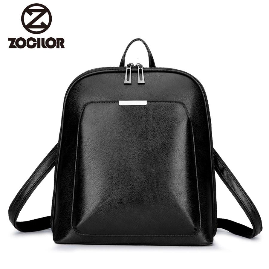 Женский рюкзак высокого качества из искусственной кожи, модные рюкзаки, женские повседневные винтажные сумки на плечо большой вместимости