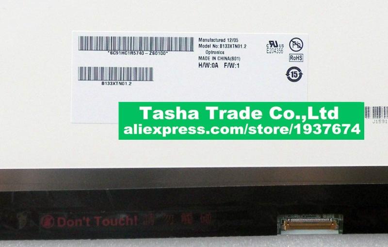 Para Acer S5-391 LCD pantalla LED B133XTN01.2 1366*768 30 pines arriba y abajo tornillo agujeros Pantalla de Nuevo perfecto Original