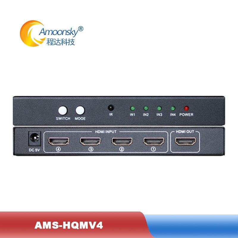 4x1 out ، محول HDMl رباعي الرؤية ، يدعم وضع PIP ملء الشاشة