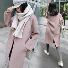 New Women Casual Winter Jacket Overcoat Slim Fit Long Cardigan Coat Tops Outwear Female Fashion Chaquetas Mujer Jaqueta Feminina