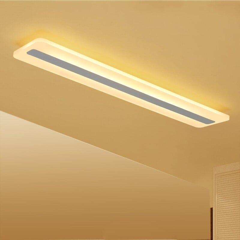 moderno led luzes de teto para sala estar quarto simples acrilico escritorio luminarias