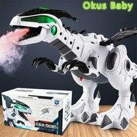 Новинка 2021, игрушки-Динозавры для детей, игрушки, Электрический динозавр с белым распылением, механический Птерозавр, игрушка-Динозавр для ...