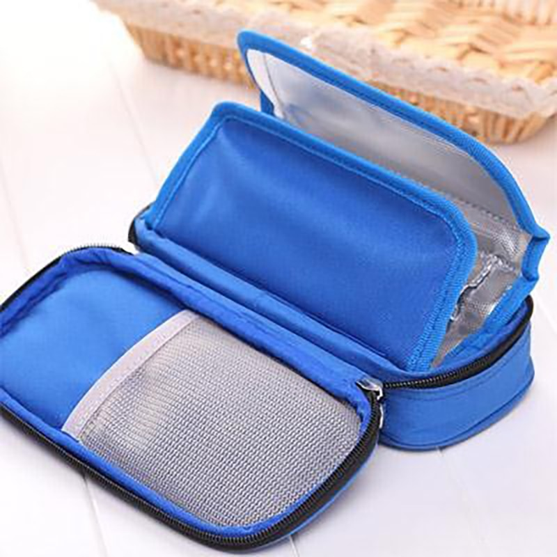 Bolsa de enfriamiento de insulina portátil bolsa de hielo bolsa de enfriamiento caliente