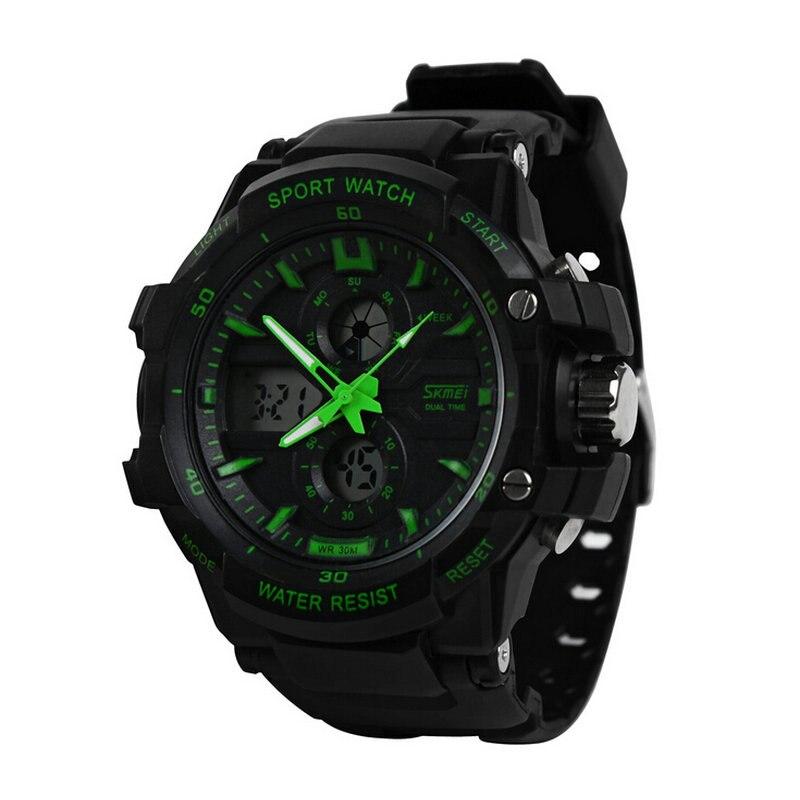 SKMEI-reloj deportivo para niños, cronógrafo Digital atomático, de lujo, militar, de pulsera