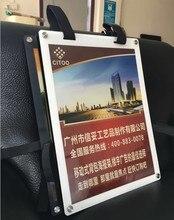 La boîte à lumière portative de publicité de sac à dos, mobile acrylique de Double côté favorisent ses panneaux daffichage de propagande de dos LED