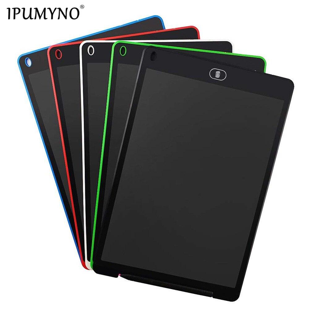 IPUMYNO-لوح رسم LCD رقمي للأطفال ، لوح رسم 283 × 185 × 5 مللي متر ، 12 بوصة ، لممارسة الكتابة والرسم