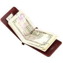 Fashion Slim Mini Money Clips Unisex Cash Clips Mens Wallet Black Small Cion Purse women bag Coffee Casual boys magic wallet