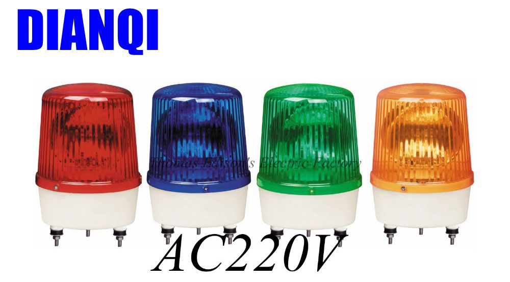 220 В переменного тока 380 Φ строительные сигналами без зуммера (без звука) warning light