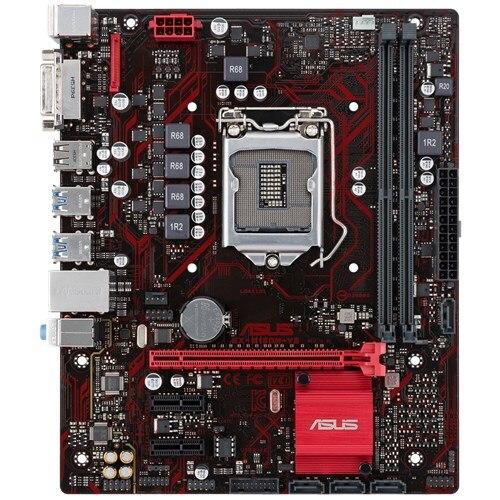 Utilisé, Asus EX-B150M-V3 Original nouvelle carte mère de bureau B150 Socket LGA 1151 i7 i5 i3 DDR4 32G SATA3 micro-atx