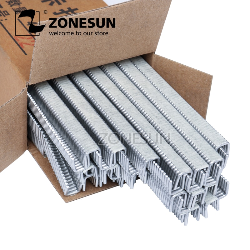 ZONESUN 1 box Buckle for Manual U-shape 506 503 Sausage Clipper Clipping Machine Maker, clips for Supermarket Tightening Machine