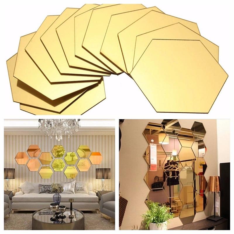 1 conjunto 3d espelho adesivos de parede restaurante corredor personalidade decorativo pasta sala estar adesivo