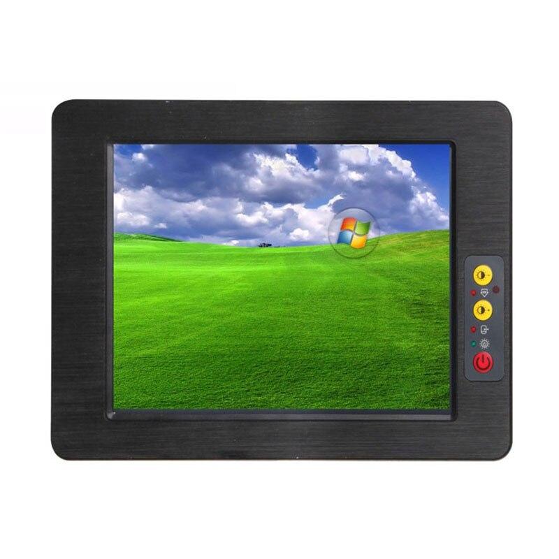 PC sin ventilador todo en uno, pantalla táctil de 10,4 pulgadas, Monitor Industrial de tableta AIO, soporte de computadora, sistema Linux, aplicación comercial