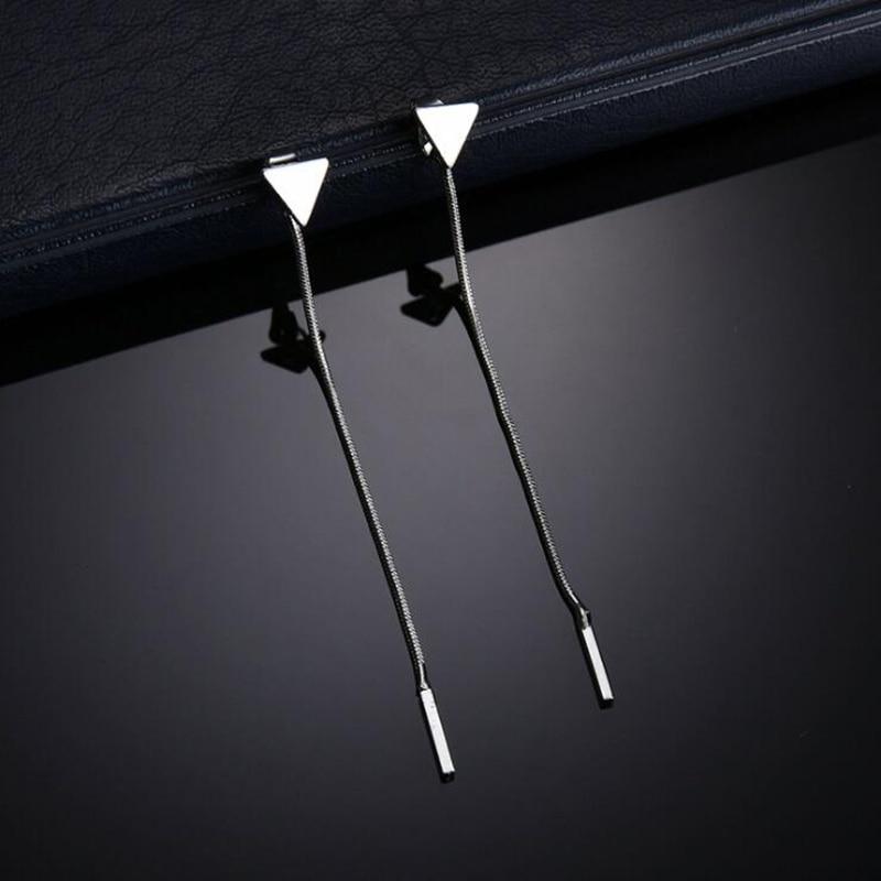 Նորաձեւության եռանկյունի ականջօղեր - Նորաձև զարդեր - Լուսանկար 5