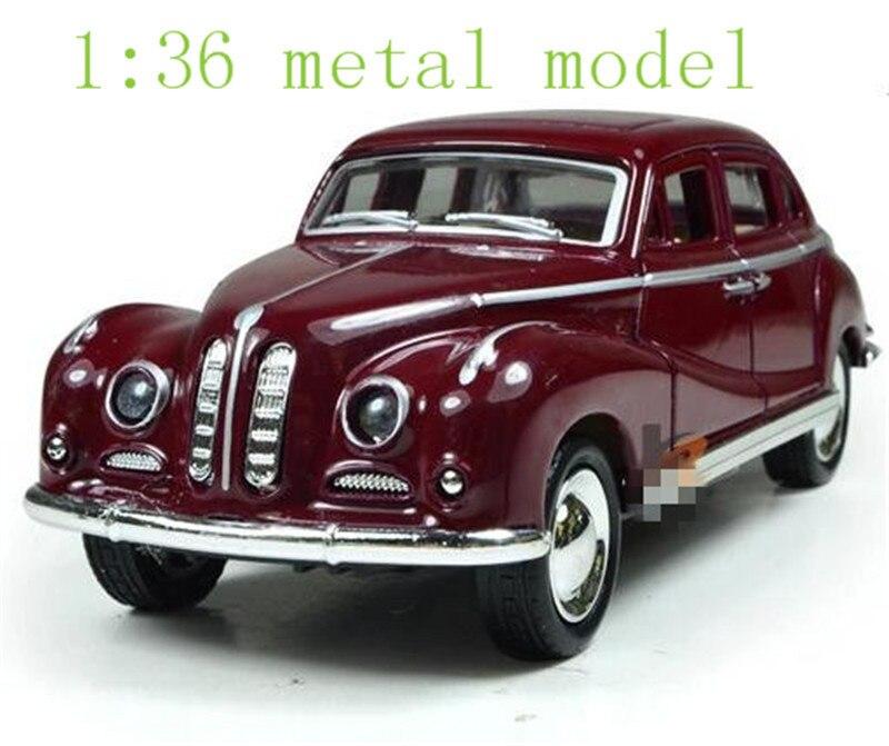Venta caliente 2014 chico presente clásico modelo de coche atrás de modelo de aleación de los niños juguetes de sonido de la luz a las 136 modelo