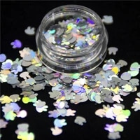 5gbag clover moon hearts snowflakes xmas tree chunky glitter sequins powder shining flakes nails art body face party decoration