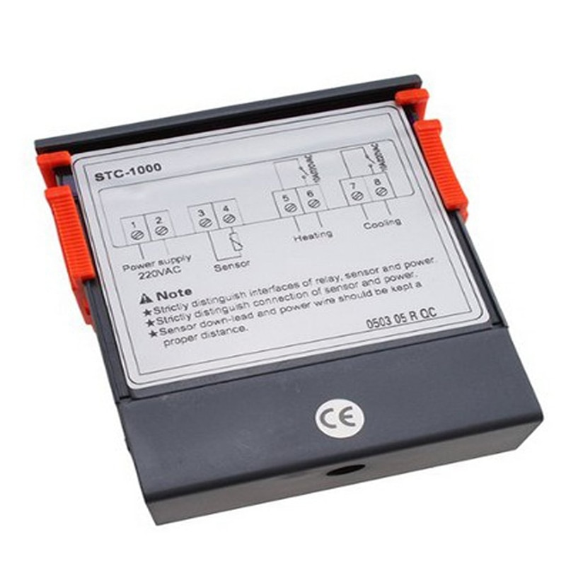Termostato Digital controlador de temperatura 220V/STC-/1000 con NTC