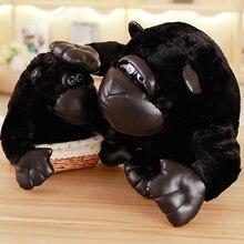 1 pièces gorille peluche jouets roi kong poupée grand singe poupée écarlate boule lever poupée amoureux un cadeau danniversaire