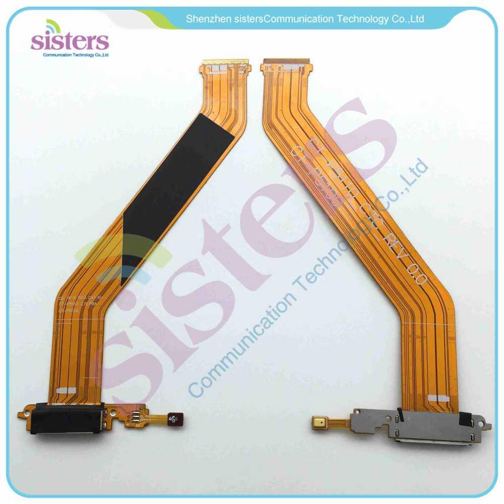 Venta al por mayor Dock conector Puerto USB de carga cinta cable FLEX para Samsung Galaxy Tab 2 10,1 P5100 P5110
