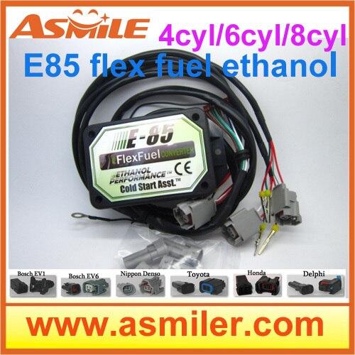 E85 convertidor (caja de plástico) 8cyl EV1 (EV6, NIP, DLP, TO1, NH1) -- arranque en frío Asst., kit e85 combustible