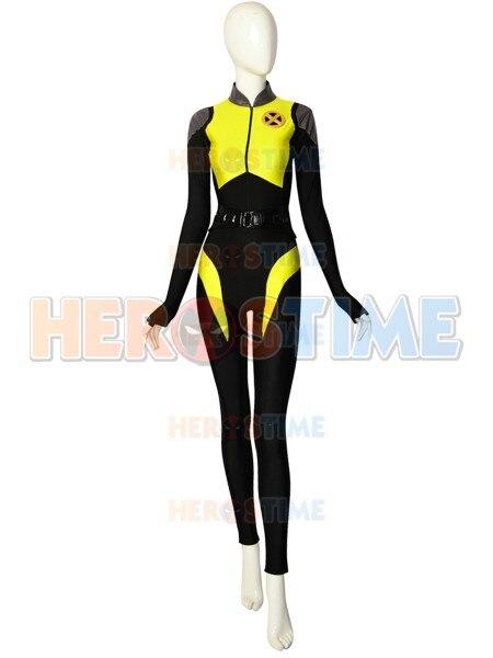 Negasonic adolescente Warhead V3 disfraces de deadpool 2 Spandex disfraz de superhéroe Halloween Zentai body