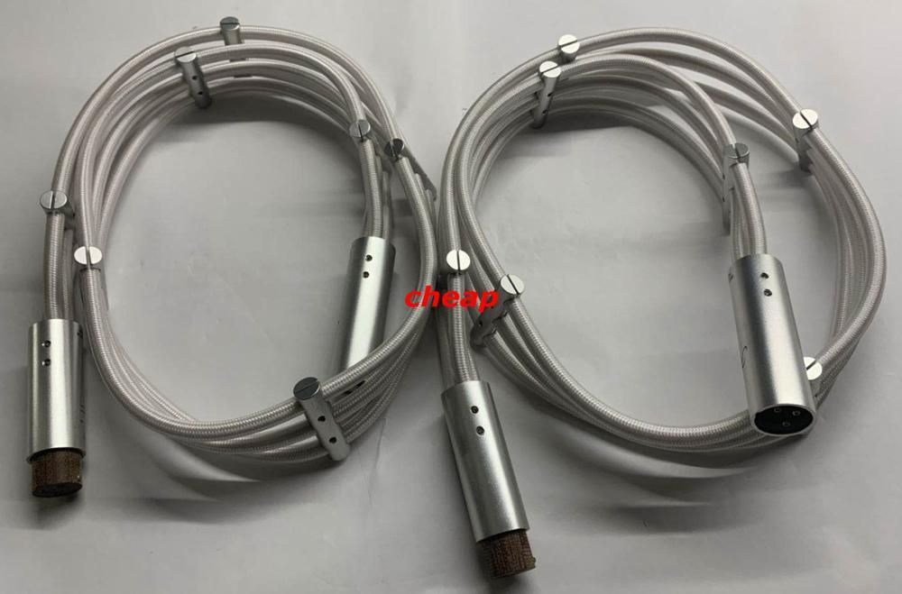 Cable de equilibrio de interconexión de Audio XLR de flujo Argento de alta gama Demark