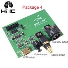 Amanero XMOS USB Digital Interface I2S / IIS to Coaxial Optical HDMI SPDIF AES Output