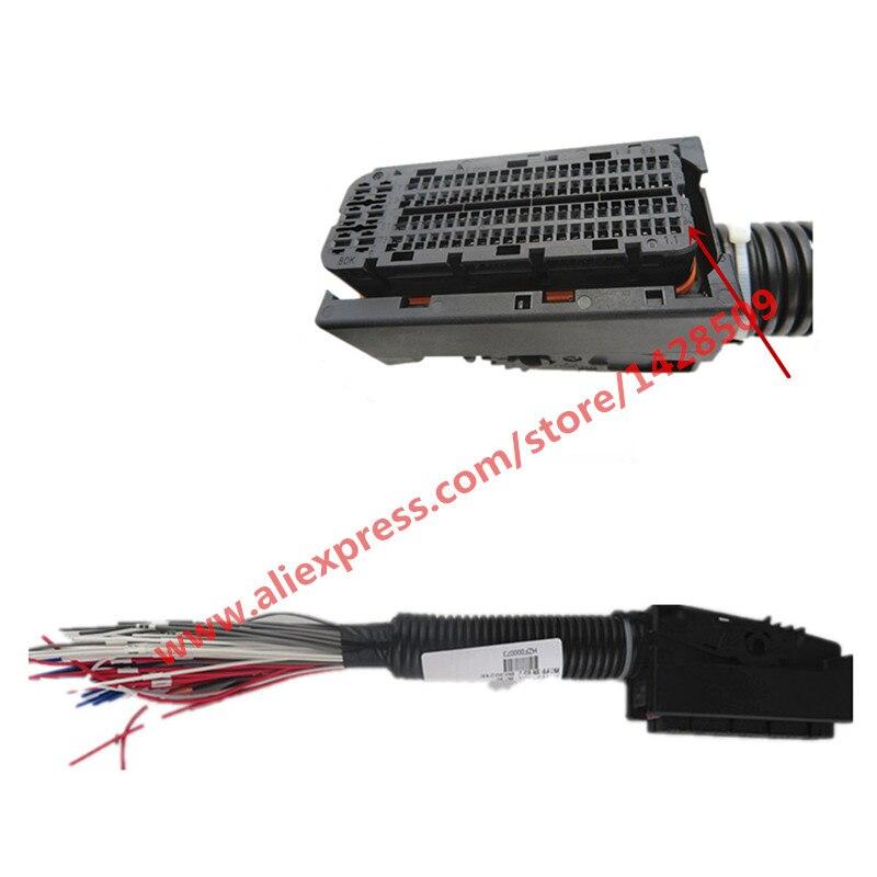 مقبس لوحة دوائر كهربائية للسيارات EDC17 ، 94 دبوس/طريقة ، مع تسخير ، لبوش