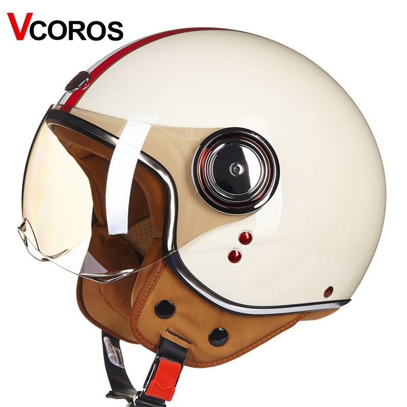 BEON metade do rosto do capacete da motocicleta chopper de jato de nova chegada do vintage retro vintage motobike capacete Ece22.05 unissex bandeira Italiana