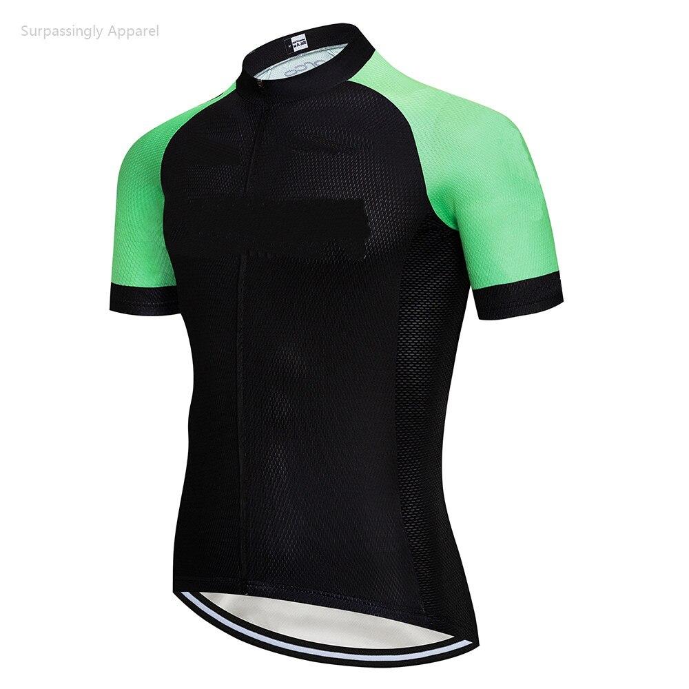 Verano de 2019 Equipo Verde Ropa personalizada para Ciclismo Ropa seca rápido camiseta de carreras para bicicleta Ropa ciclisma bicicleta de montaña Ciclismo Jersey
