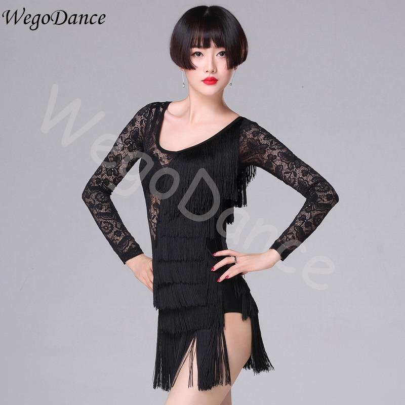 new sexy fringe fashion Latin dance dress practice clothes freeshipping hot sale